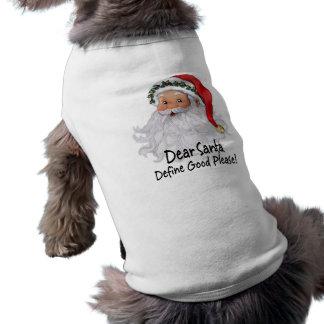 Estimado Santa Ropa De Perro