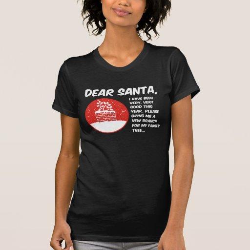 Estimado Santa Tshirts