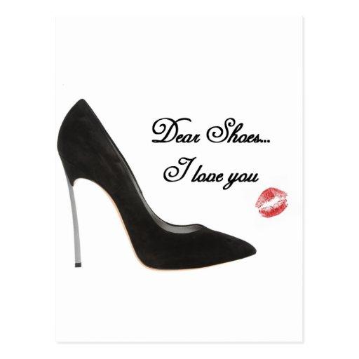 Estimado Shoes… te amo Tarjetas Postales