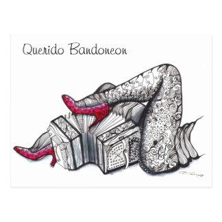 Estimado tango de Bandoneon - de Querido Bandoneon Postal