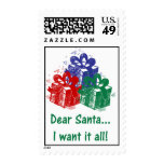 Estimados sellos de Santa