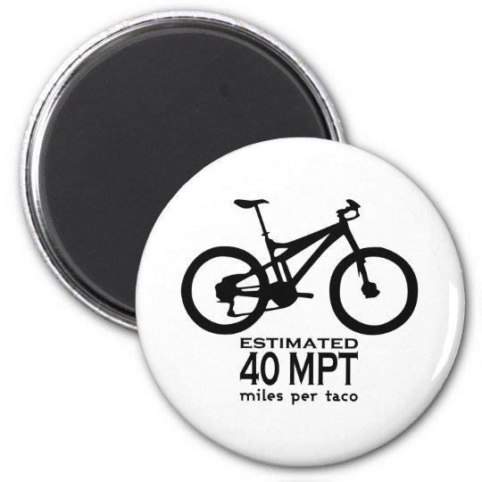 Estimated 40 Miles Per Taco Magnet