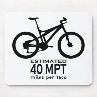 Estimated 40 Miles Per Taco Mouse Pads