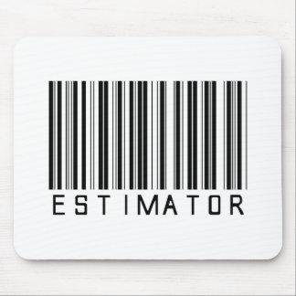 Estimator Bar Code Mouse Pad