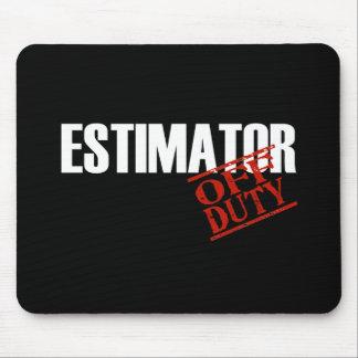 ESTIMATOR DARK MOUSE PAD