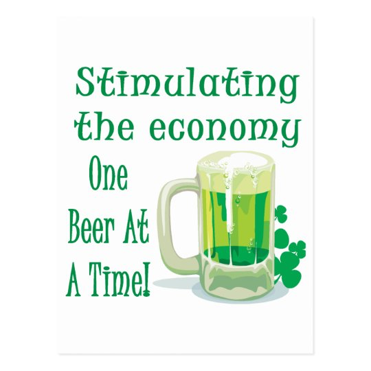 Estímulo de la cerveza postal