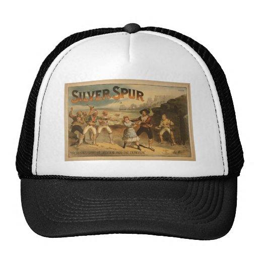 Estímulo de plata gorras