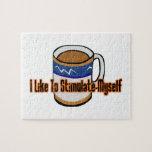 Estímulo del café puzzle con fotos