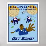 Estímulo económico poster