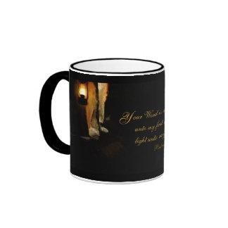 Estímulo inspirado cristiano del verso de la bibli tazas de café