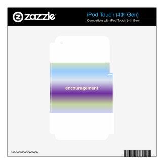 estímulo iPod touch 4G skin