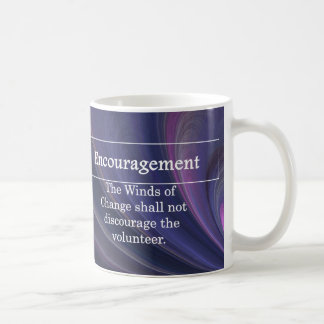 Estímulo para los voluntarios tazas de café