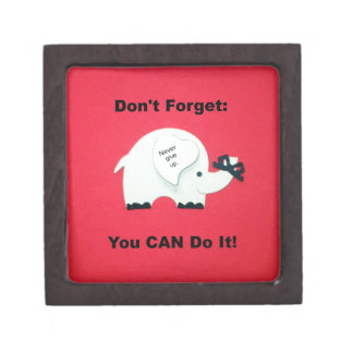 Estímulo: ¡Usted puede hacerlo! Cajas De Regalo De Calidad