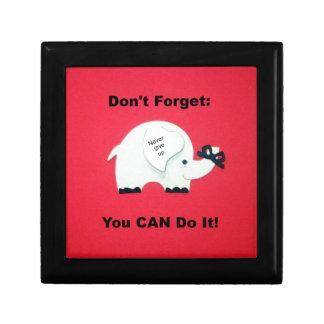Estímulo: ¡Usted puede hacerlo! Caja De Regalo