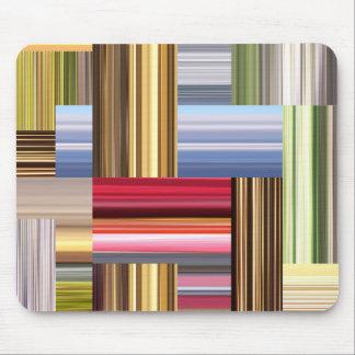Estiramiento de colores tapetes de ratones