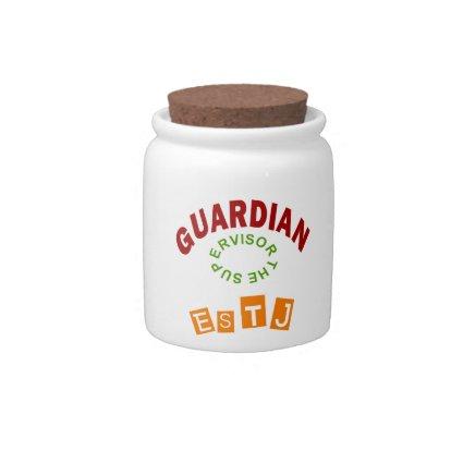 ESTJ Guardian personality type Candy Dish