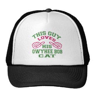 Esto ama su gato de la sacudida de Owyhee Gorros