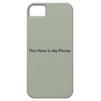Esto aquí funda para iPhone SE/5/5s