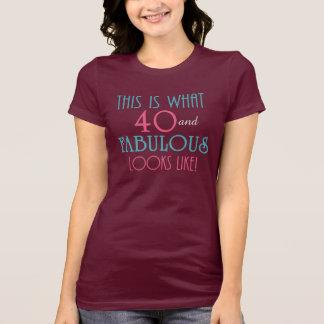 ¡ESTO es de lo que tienen gusto 40 y las miradas F Camiseta