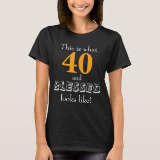 Esto es de lo que tienen gusto 40 y las miradas playera