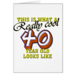 Esto es de lo que tienen gusto las miradas 40 años felicitacion