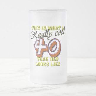 Esto es de lo que tienen gusto las miradas 40 años taza