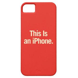 Esto es iPhone 5 fundas
