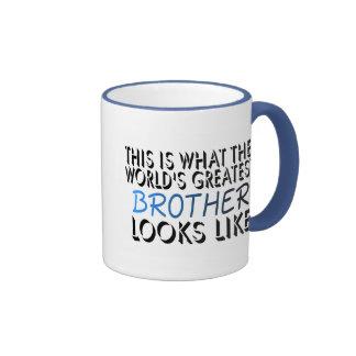Esto es lo que Brother más grande del mundo 2 Tazas De Café