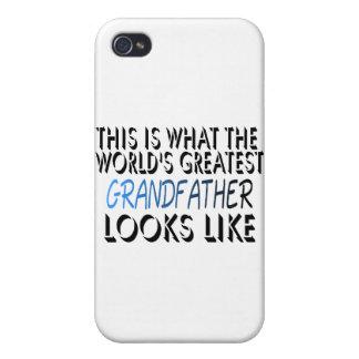 Esto es lo que el abuelo más grande del mundo (2) iPhone 4 carcasas