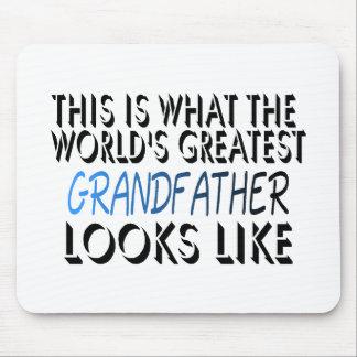 Esto es lo que el abuelo más grande del mundo (2) alfombrilla de raton