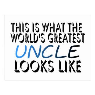 Esto es lo que el tío más grande del mundo (2) postal