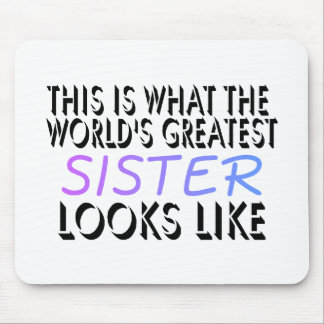 Esto es lo que la hermana más grande del mundo (2) alfombrilla de raton