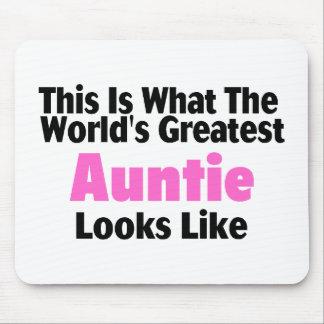 Esto es lo que la tía más grande Looks Li del mund Tapete De Ratones