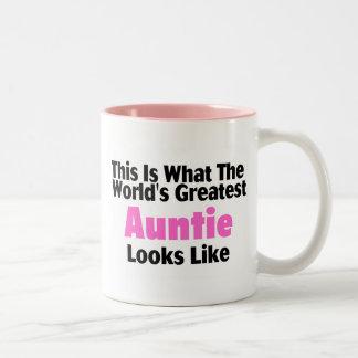 Esto es lo que la tía más grande Looks Li del Taza De Dos Tonos
