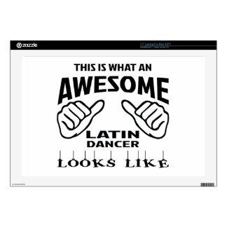 Esto es lo que parece una danza latina 43,2cm portátil calcomanía