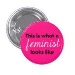 """""""Esto es lo que parece una feminista """" Pins"""