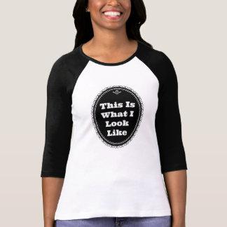 Esto es lo que parezco camiseta