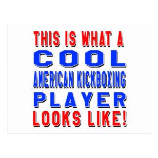 Esto es lo que un retrete kickboxing americano postal