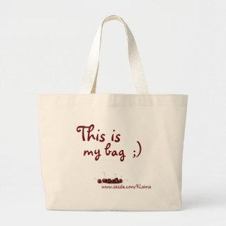 Esto es mi bolso www zazzle com KLaima Bolsas