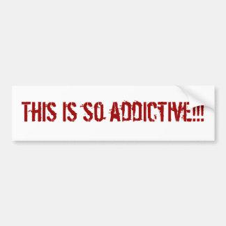 ¡Esto es tan adictivo!!! Pegatina Para Auto