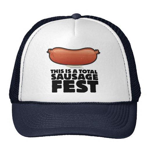 Esto es un Fest total de la salchicha Gorras