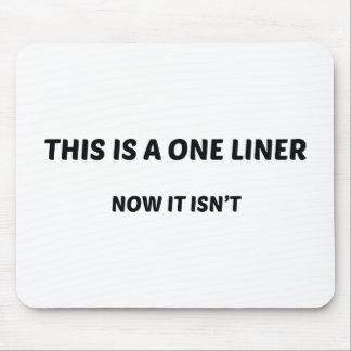 Esto es un un trazador de líneas. Ahora no está. Alfombrilla De Raton