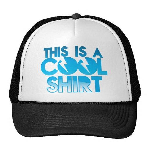Esto es una camisa fresca gorras