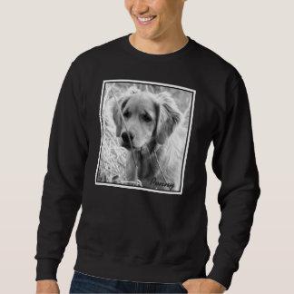 Esto es una camiseta X-Grande con el penique en él Pulover Sudadera