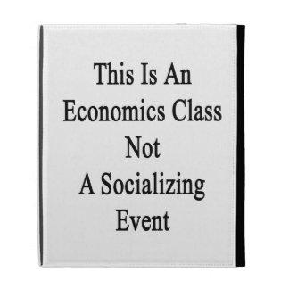 Esto es una clase de la economía no un