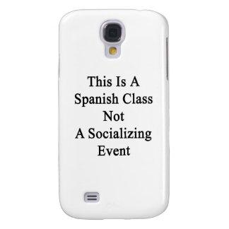 Esto es una clase española no un acontecimiento de funda para galaxy s4