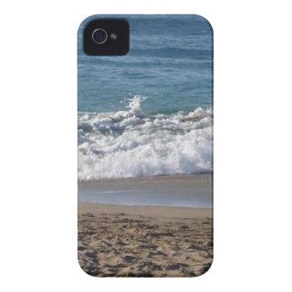 Esto es una fotografía de mi playa preferida hasta iPhone 4 Case-Mate cobertura