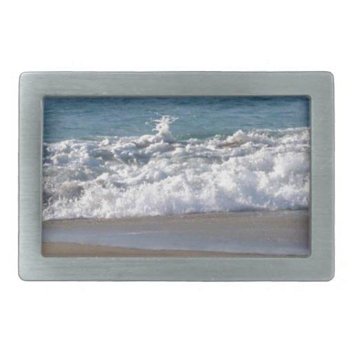 Esto es una fotografía de mi playa preferida hasta hebilla de cinturón rectangular