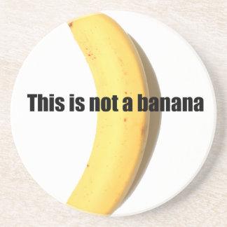 Esto no es un plátano posavasos personalizados