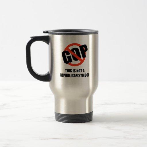 Esto no es un símbolo republicano tazas